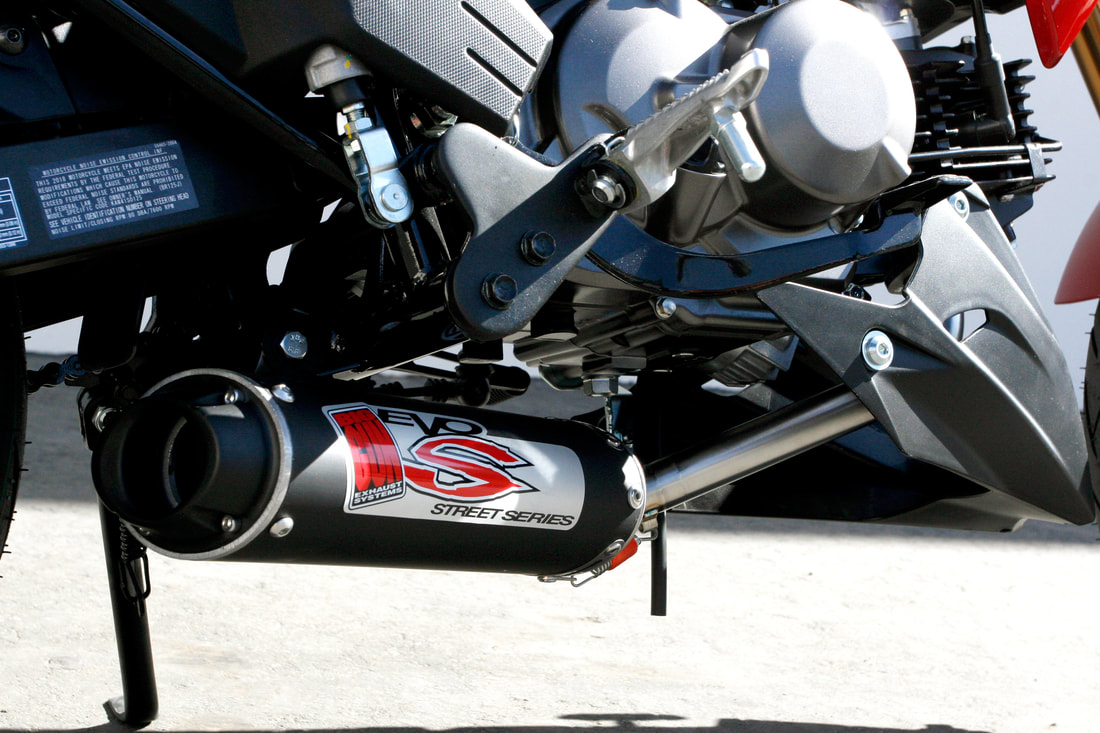 NEW PRODUCT: KAWASAKI Z125 PRO EXHAUST – Big Gun Exhaust